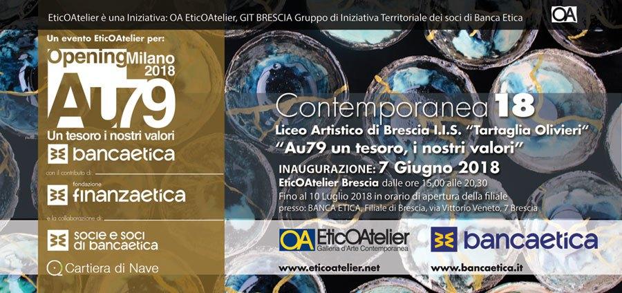 Contemporanea18 con il Liceo Artistico Olivieri Tartaglia
