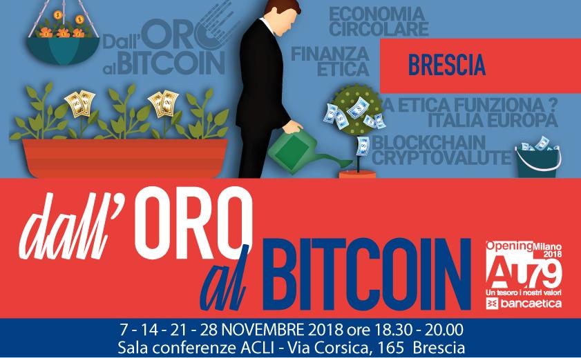 Dall'Oro al BitCoin